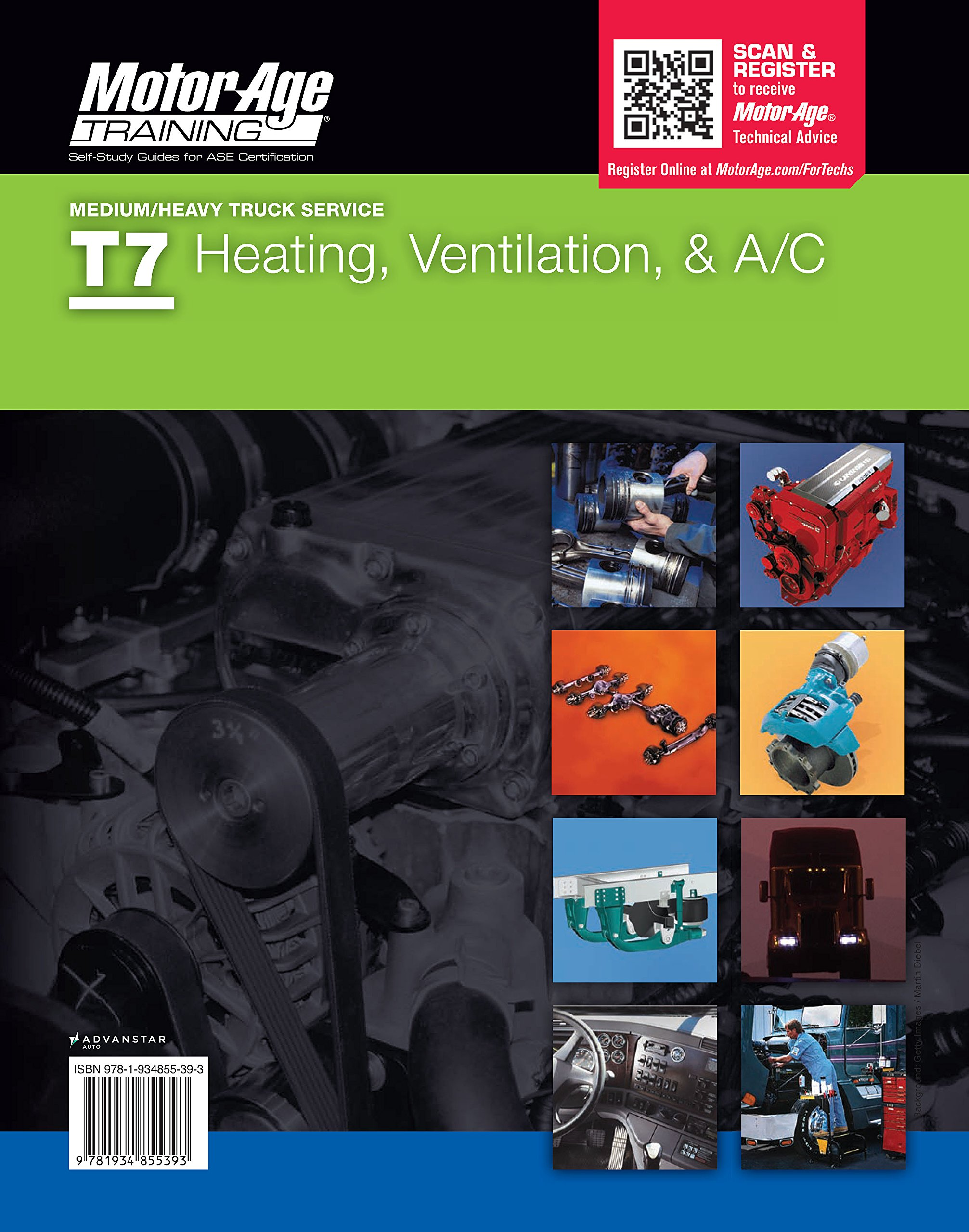 Ase Study Guide Dvd T7 Heating Ventilation And Ac Certification By
