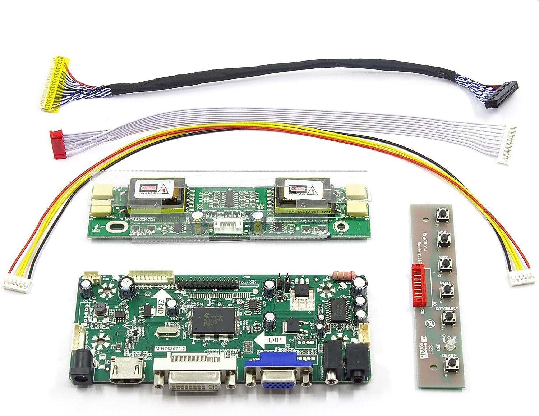 HDMI+DVI+VGA Controller Board Driver kit for LCD Panel MT220WW01 V.0