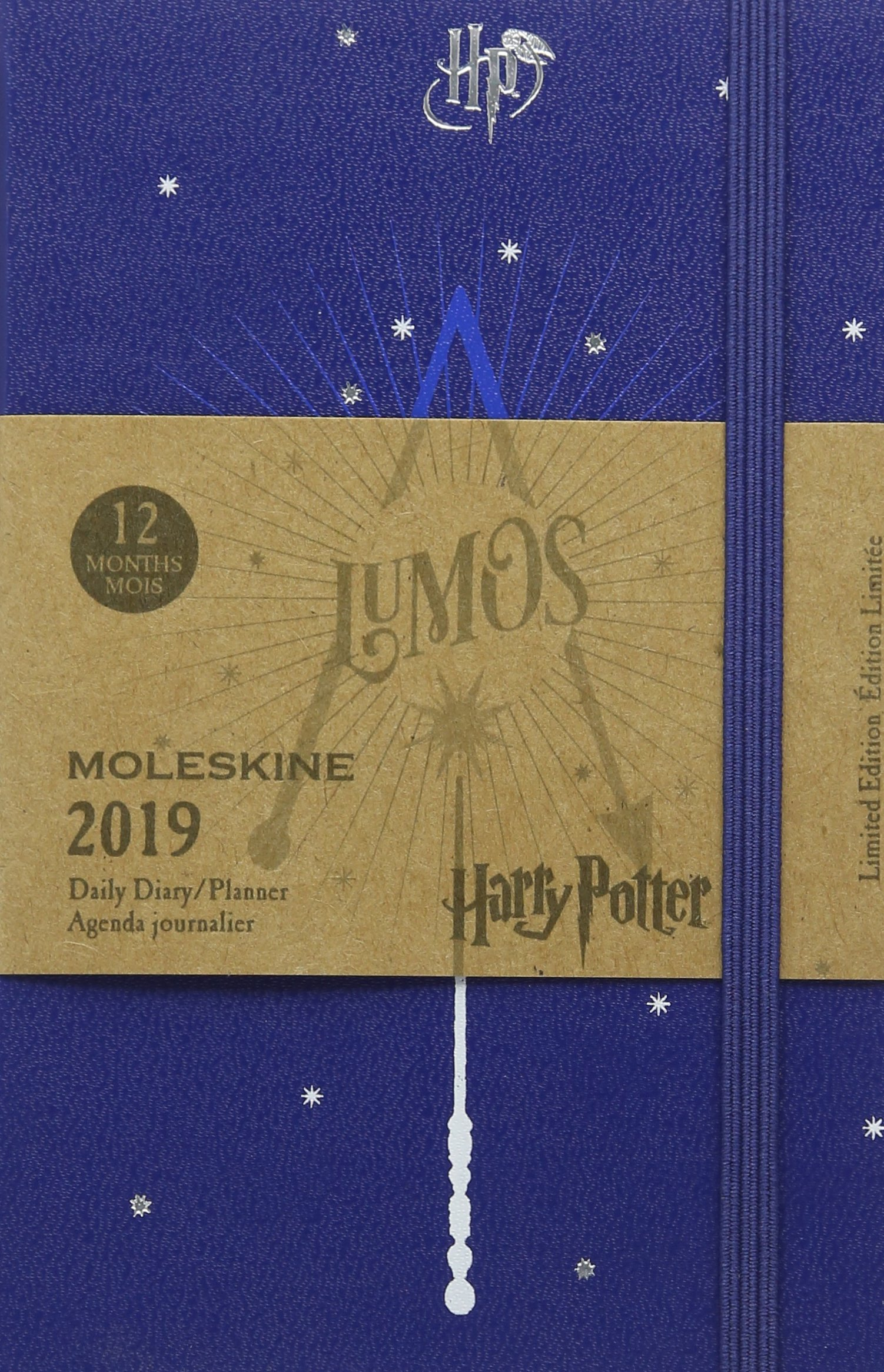 Moleskine 2019 12m Harry Potter Daily, Pocket, Daily, Blue ...