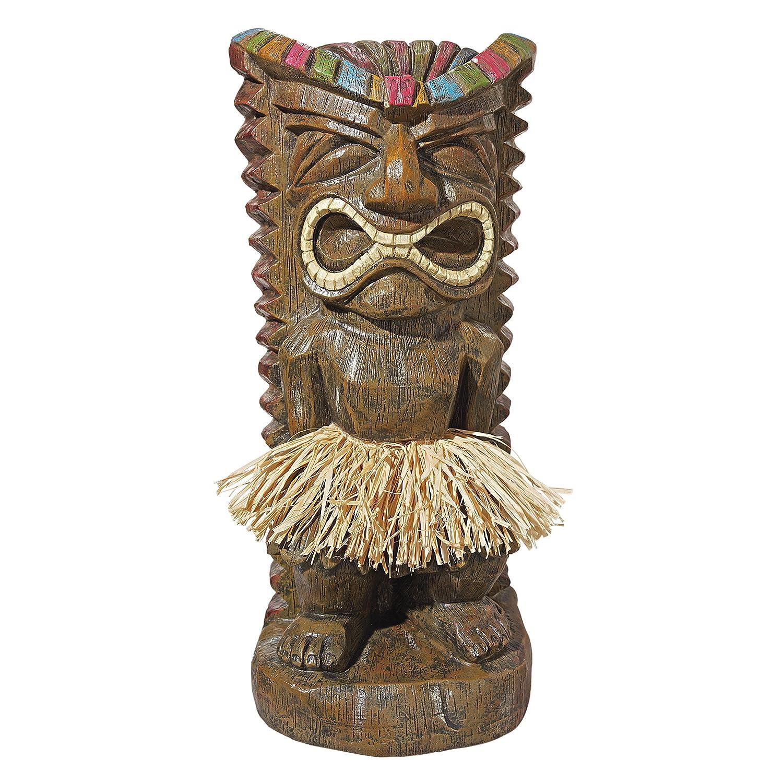 Amazon.com : Design Toscano Pau Hana Hawaiian Tiki Totem Statue : Patio,  Lawn U0026 Garden