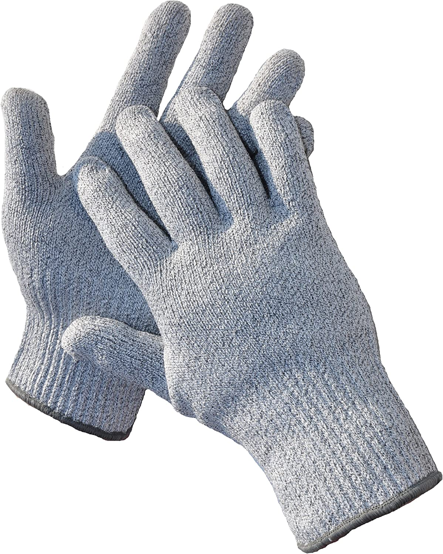 G & F 57100M CUTShield Classic level 5 Cut Resistant Gloves for Kitchen,Food Grade Cut Resistant Gloves, Medium.