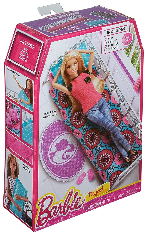 Mattel Barbie CFG68 - Bett, Puppenzubehör: Amazon.de: Spielzeug