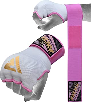 RDX Bandes Boxe Bandage MMA sous Gants Prot/ège Poignet Bande Muay Thai Hand Wraps