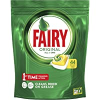 Fairy Original All in One Dishwasher Capsules, 44 Pack, Lemon