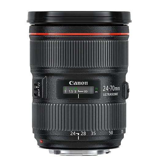 amazon com canon ef 24 70mm f 2 8l ii usm standard zoom lens