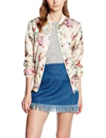New Look Women's Floral Bomber Jacket