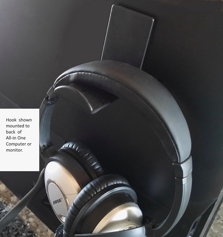Stick On Headphone Hooks 2 Pack Ebay