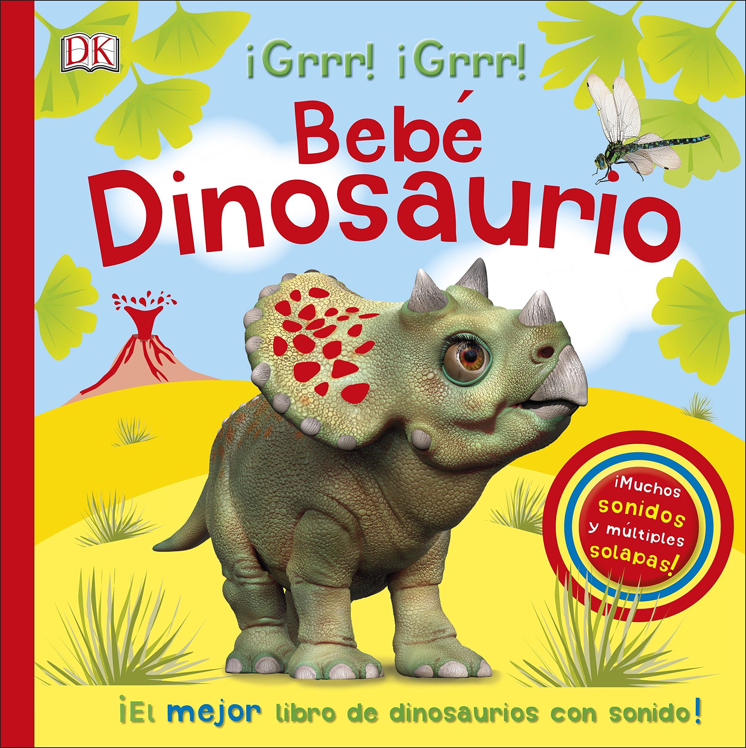 Bebe Dinosaurio Libro Infantil Con Sonidos Preescolar Amazon Es Varios Autores Libros Dibujos de dinosaurios para colorear fácil. libro infantil con sonidos preescolar