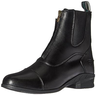 Women's Heritage IV Zip Paddock Boot Black 6 C US