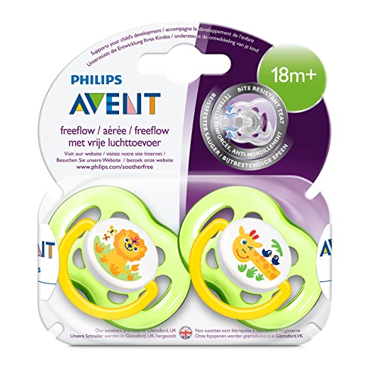 Amazon.com: Philips SCF186/23 Avent Freeflow Soothers (18 ...