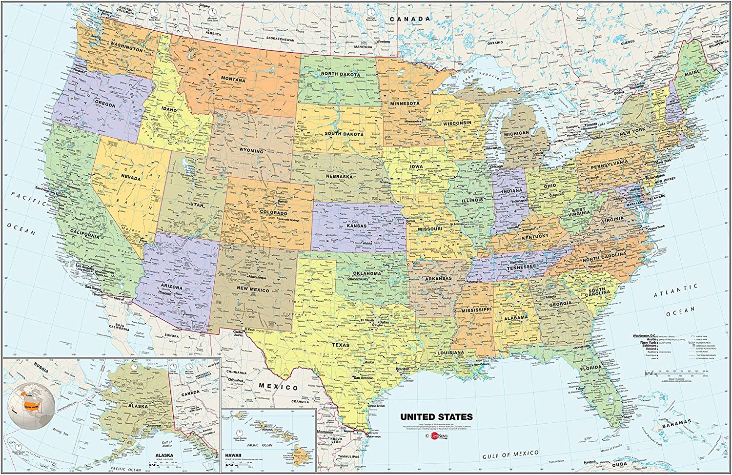 Usa Dry Erase Map Decal Dry Erase Maps on travel map, rainbow map, magnetic map, butterfly map, disney map, peel stick wall map, stars map, halloween map, dry line map, metal map,