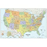 Amazon Price History for:Brewster Wall Pops WPE99073 Peel & Stick USA Dry-Erase Map with Marker
