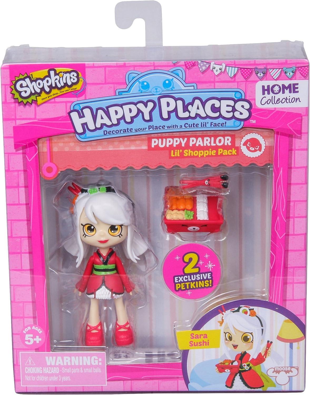 Amazon.es: Shopkins Happy Places Lil Shoppie Doll Single Pack Sara ...