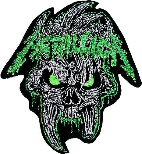 Parche calavera Metallica banda de música música Heavy Metal Punk ...