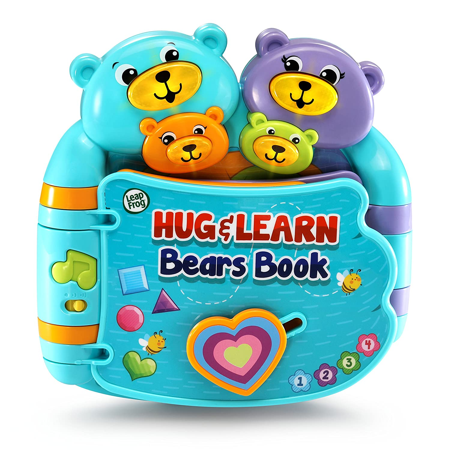 LeapFrog Hug Learn Bears Book Blue
