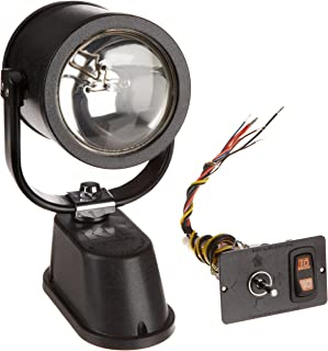 product image for KH Industries 475-20 Vehicle Mounted NightRay Spotlight with Hardwired Dash Control Panel, 50000cp Floodlight/100000cp Spotlight