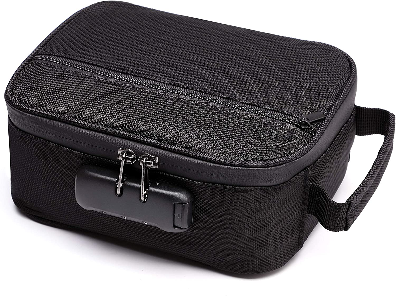 Upgraded Waterproof Smell Proof Bag Case, Stash Bag 8.3x6x3.5 Inch with Strong Combination Protect