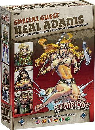 Zombicide: Black Plague Juego de mesa, Invitado especial Neal Adams: Amazon.es: Juguetes y juegos
