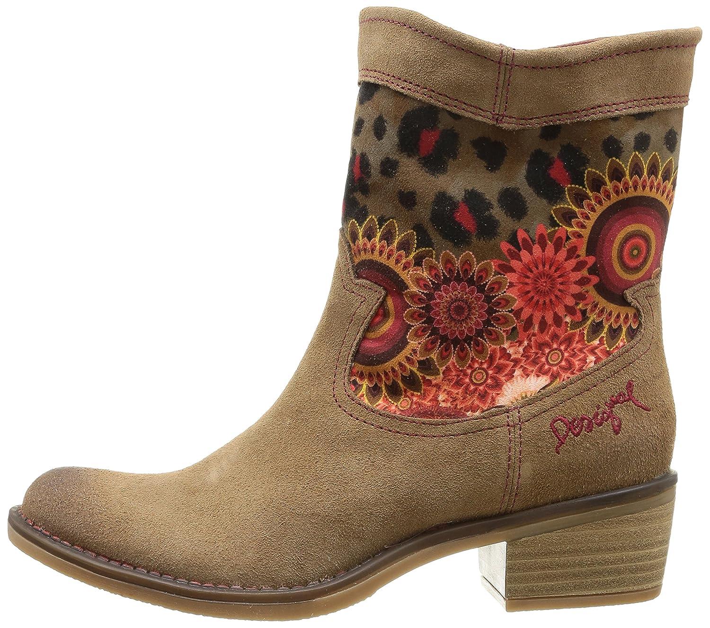 Desigual Boot Campera Salvaje, Bottes western femme , Marron (6020 Topo),  40 EU Amazon.fr Chaussures et Sacs