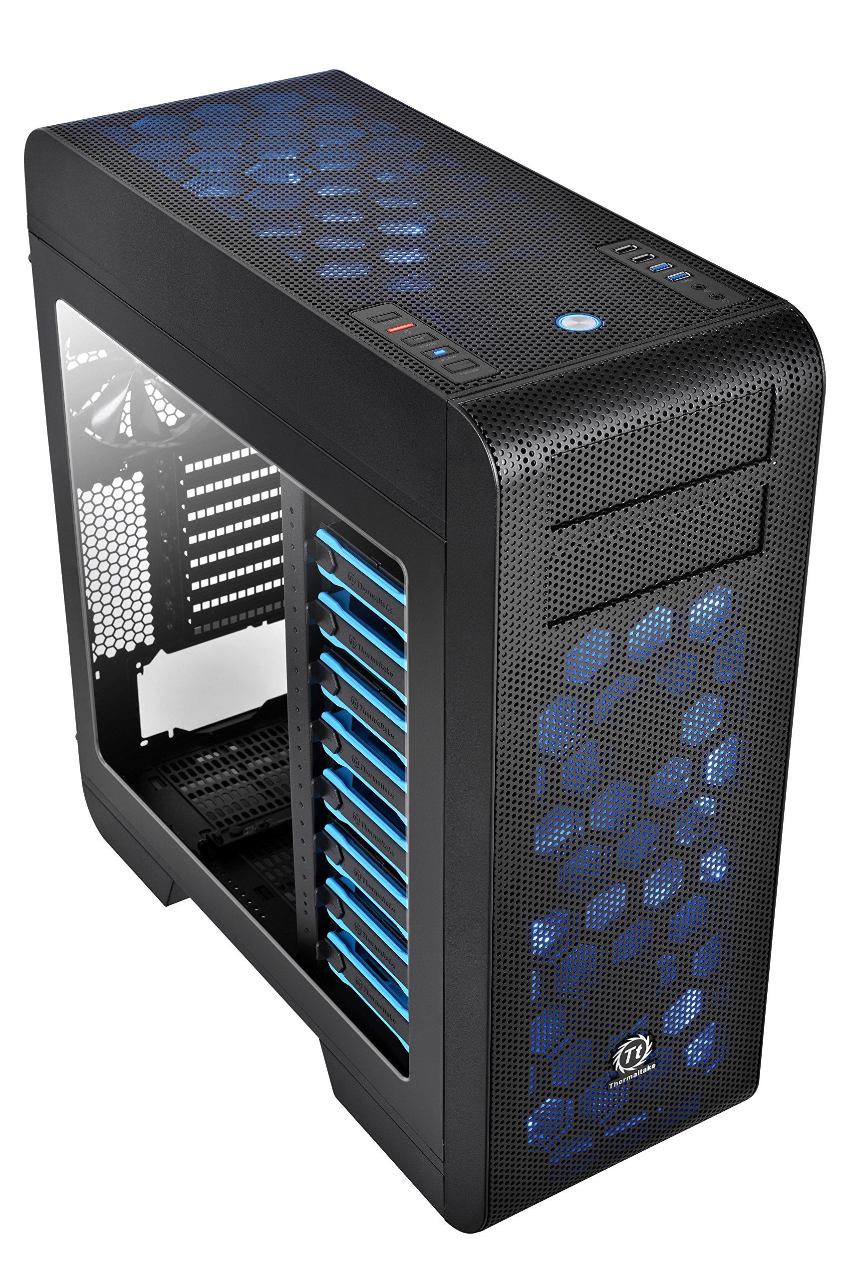 Thermaltake Core V71  E-ATX Full Tower Gaming Computer Case CA-1B6-00F1WN-00