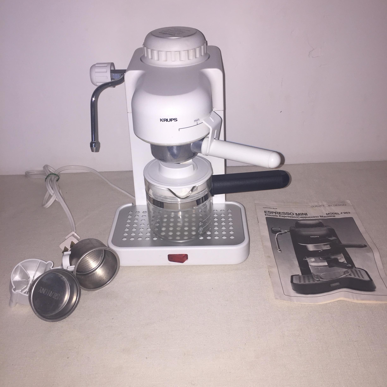 best rated in steam espresso machines helpful customer reviews rh amazon com Krups Espresso Mini 963 Parts Krups Espresso Machine