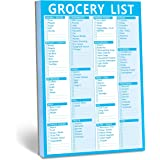 """90 Pages Grocery Shopping Weekly Planner List Note Pad with Magnet Mountings (6"""" x 9"""")"""