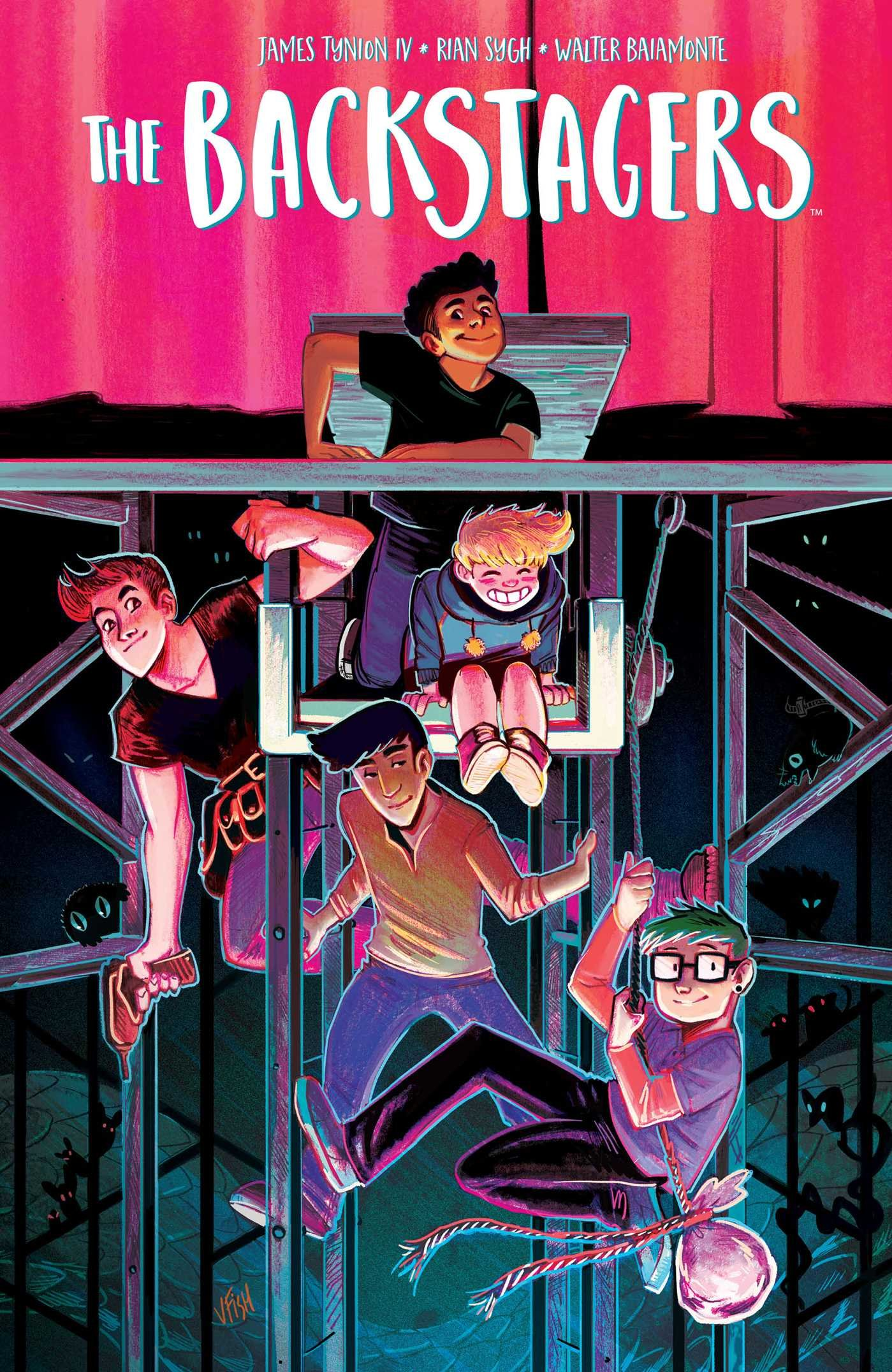 Image result for the backstagers