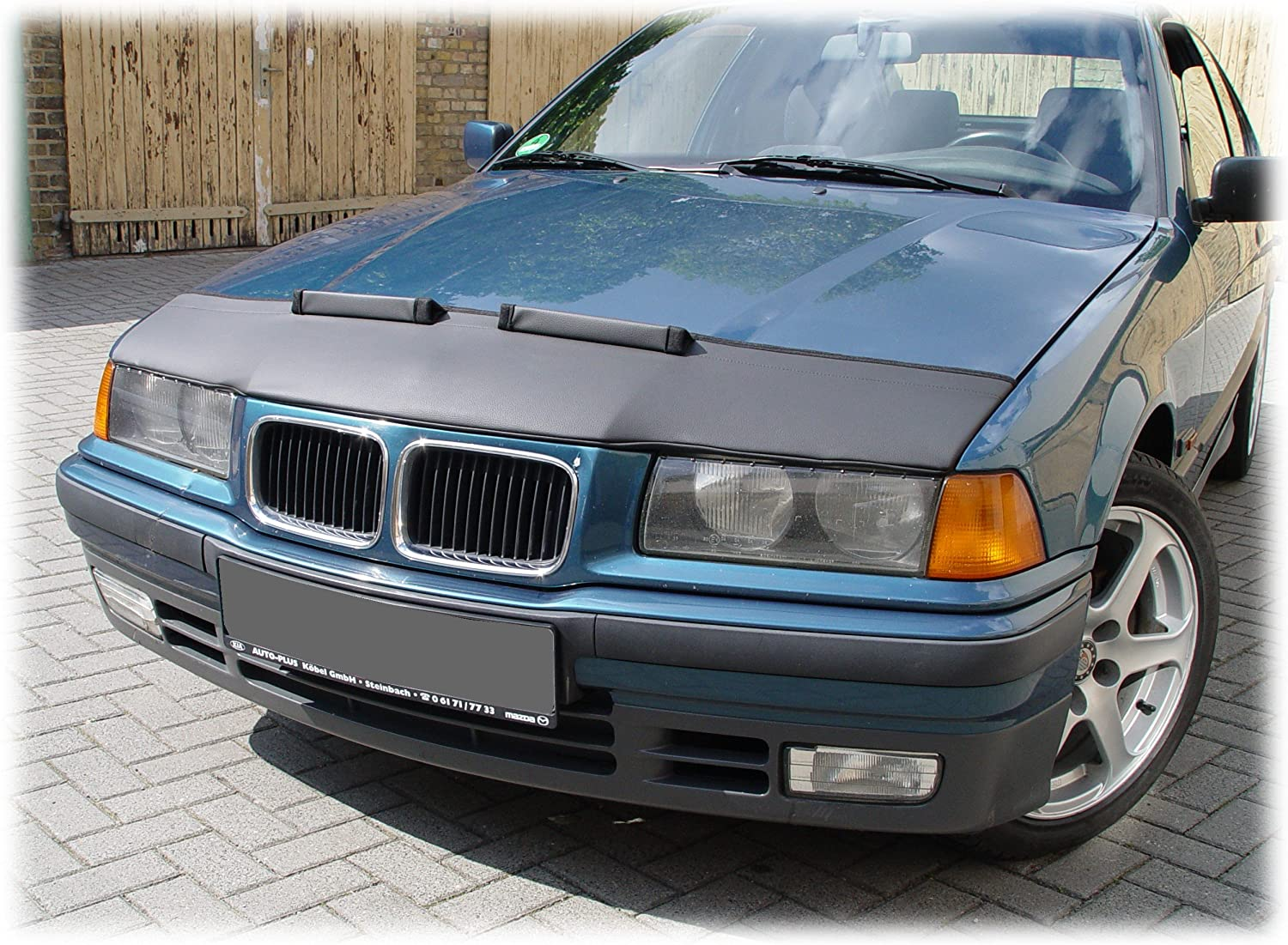 HOOD BRA Front End Nose Mask for BMW 3 E36 1990-2000 Bonnet Bra STONEGUARD PROTECTOR TUNING