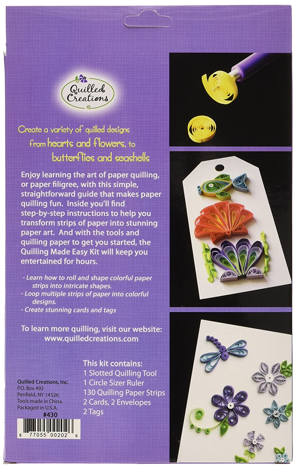 Amazon Quilled Creations Quilling Kit Arts Crafts Sewing