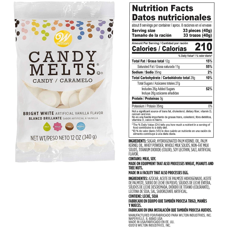 Wilton Light Cacao y blanco brillante Candy Melts Candy ...
