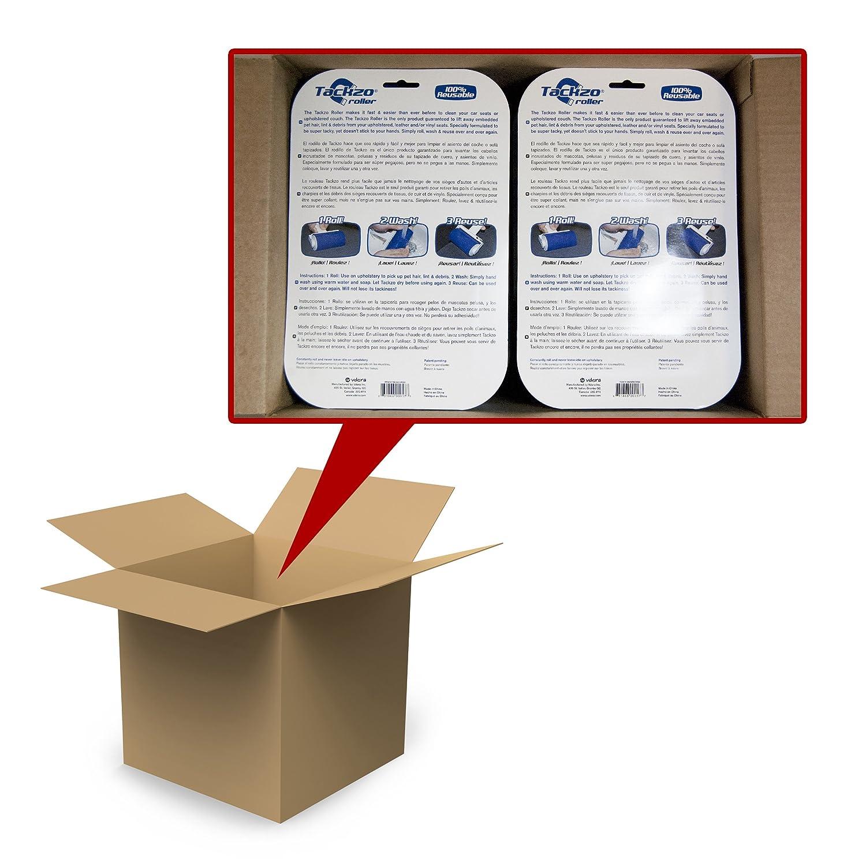 Amazon.com: Vdera TACKZO-ROLL-MC Tackzo Blue Pet Hair Remover Roller, (Pack of 12): Automotive