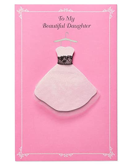 Amazon American Greetings Dress Up Birthday Card For Daughter