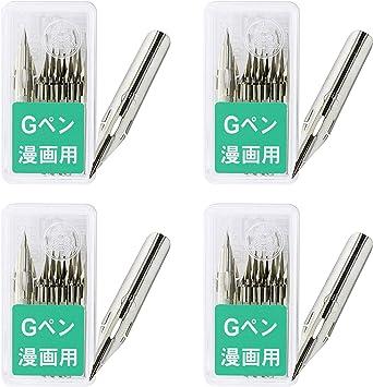 Pack of 5 Zebra Comic G Model Chrome Pen Nib