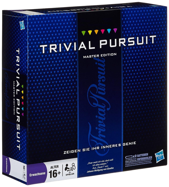 Hasbro 16762100 Trivial Pursuit Master Edition Wissens- & Denkspiele Wissens- und Quizspiele