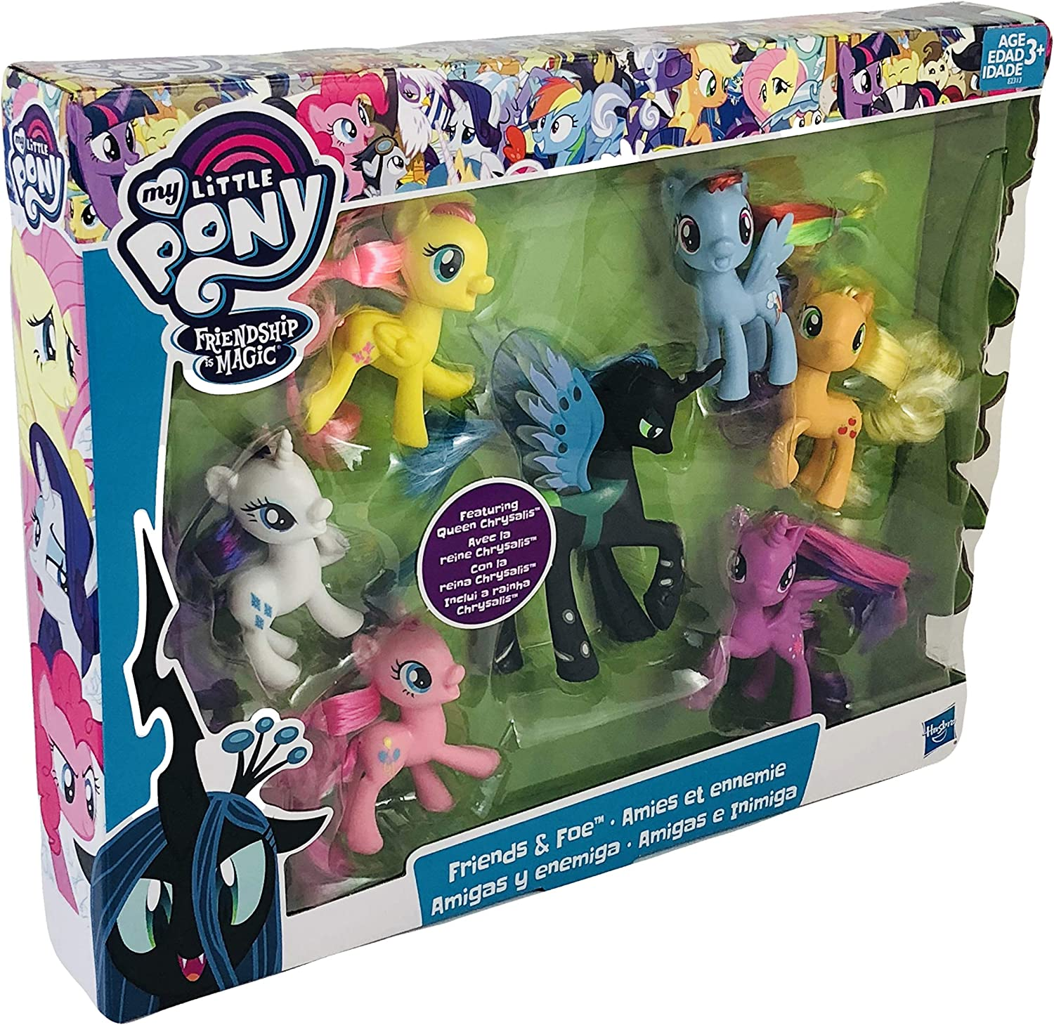 Featuring Queen Chrysalis My Little Pony Friendship Is Magic Friends Foe Action Figures
