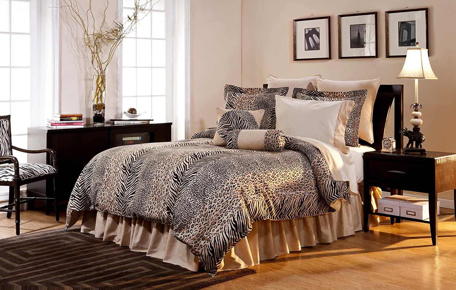 Animal Print Bedding Safari Bedding Comforters Ease
