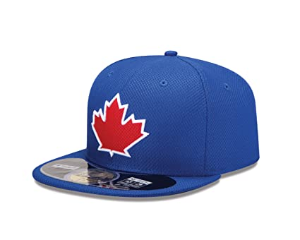 c70b8d6ab29 Amazon.com   New Era Mens 59Fifty Diamond Tech Toronto Blue Jays Cap ...