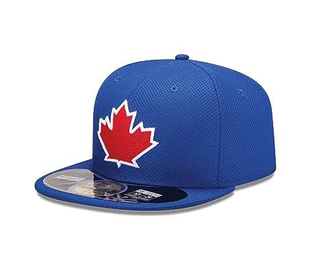 86ec3da4ea7 Amazon.com   New Era Mens 59Fifty Diamond Tech Toronto Blue Jays Cap ...