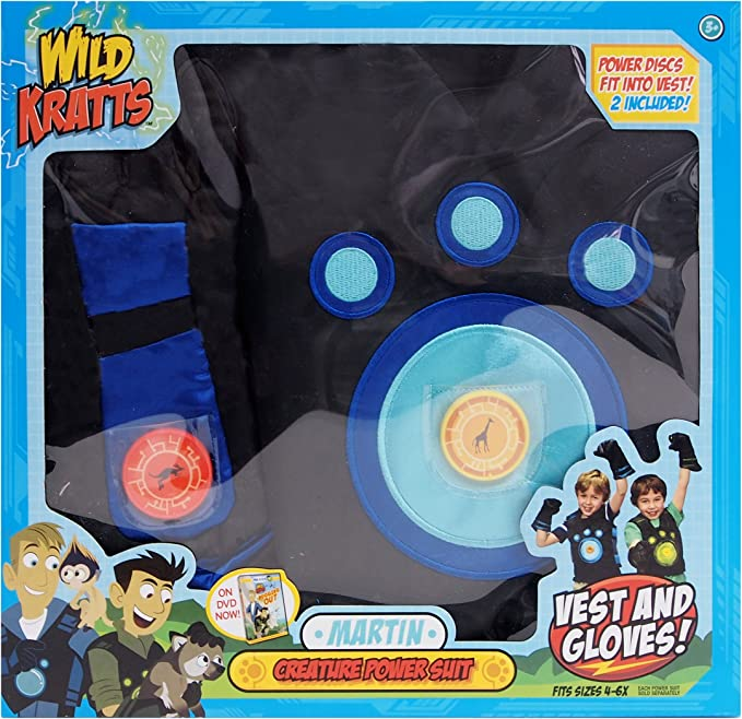 Wild Kratts, Creature Power Suit, Martin
