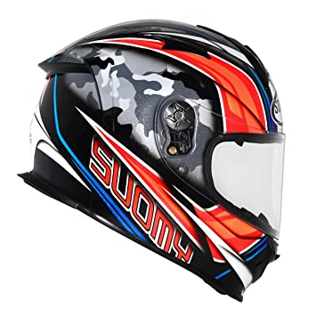 Suomy Casco para Moto Integral SR, Multicolor (Mimetic), XL