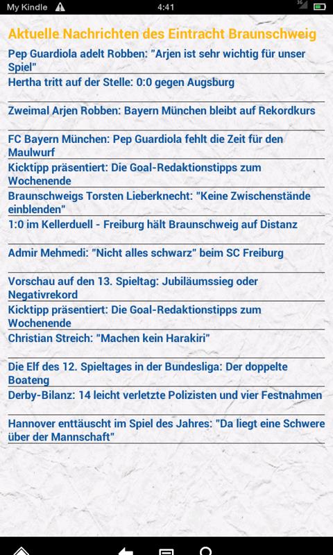 Amazon Com Braunschweig Fussball Nachrichten Appstore For Android