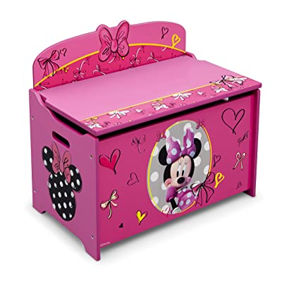 Delta Children Deluxe Toy Box, Disney Minnie Mouse : Baby