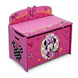 Amazon Price History for:Delta Children Deluxe Toy Box, Disney Minnie Mouse