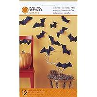 Martha Stewart Crafts 48-20166 Dimensional Silhouette, Bat