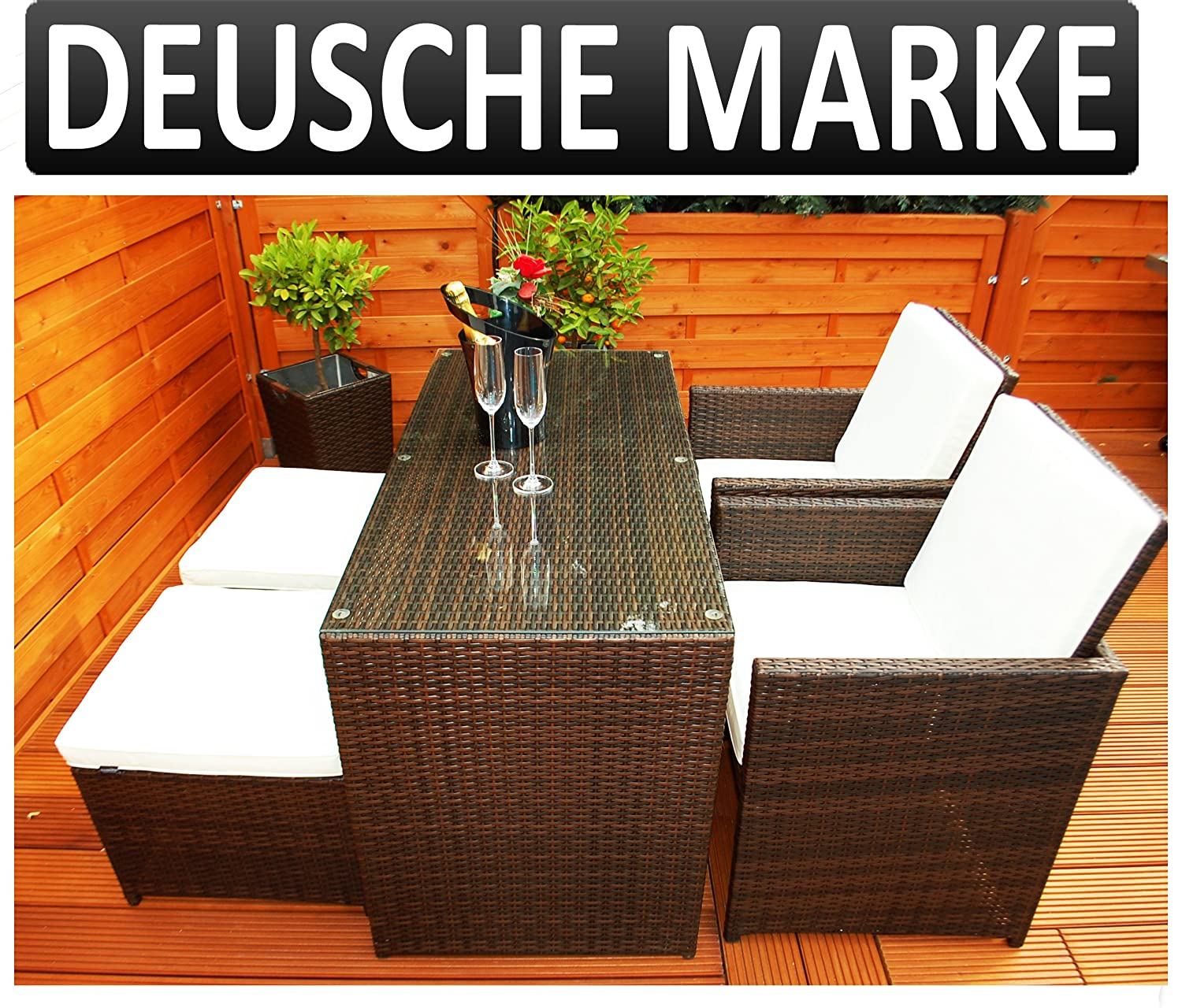 gartenm bel polyrattan deutsche marke eignene produktion ragnar k m beldesign essgruppe tisch. Black Bedroom Furniture Sets. Home Design Ideas
