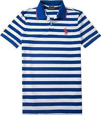 8a6eda3c49d4e1 Ralph Lauren Golf Herren Polo-Shirt Baumwolle   Mix T-Shirt Gestreift