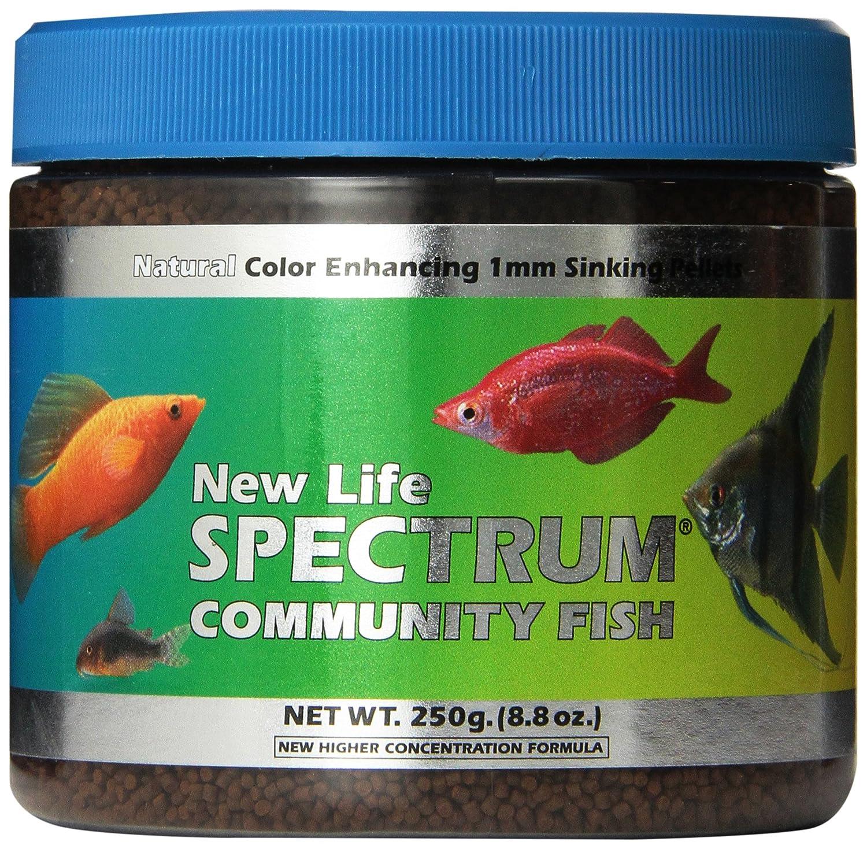 Amazon.com : New Life Spectrum Community Fish 1mm Sinking Freshwater ...