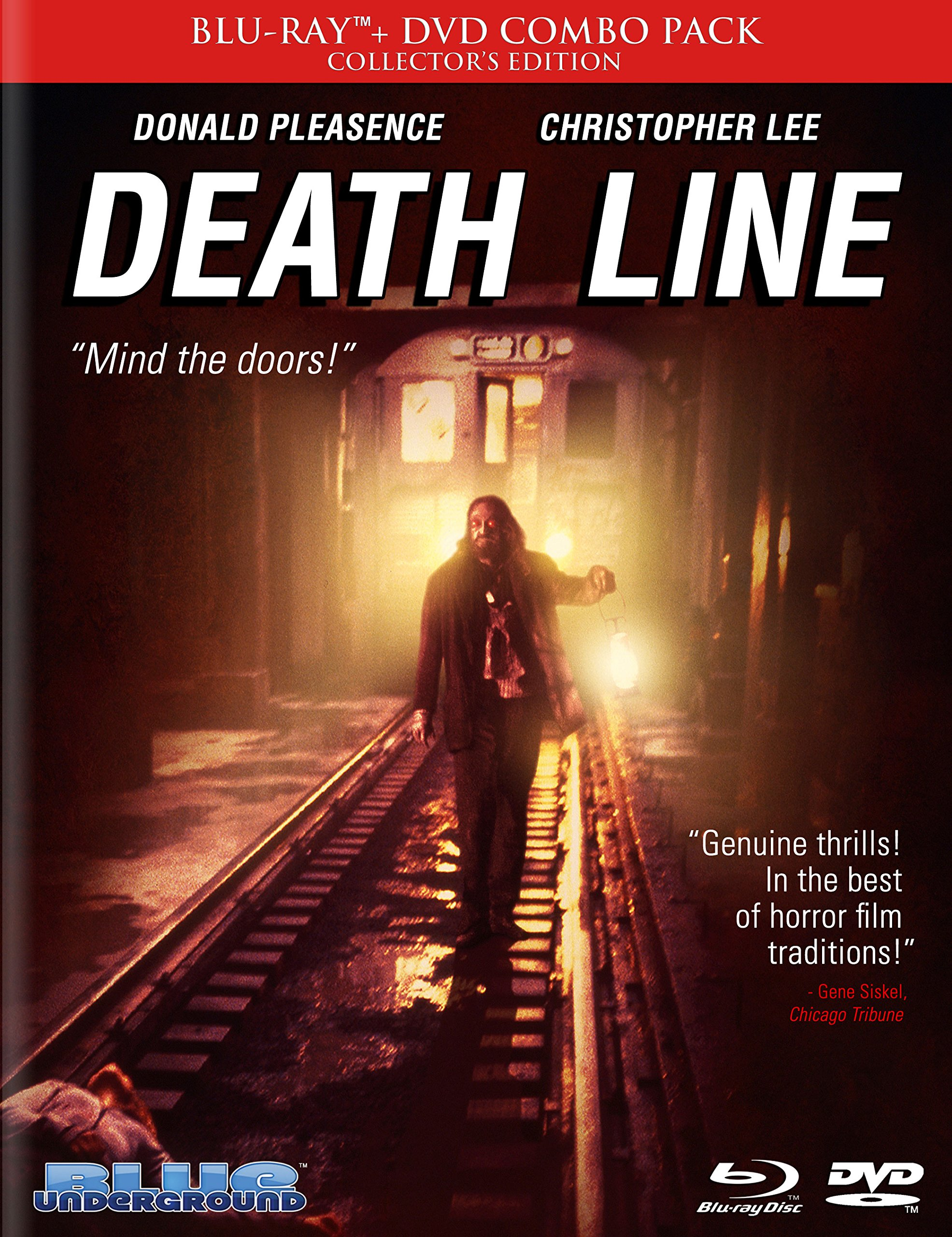 Death Line (aka Raw Meat) (Limited Edition) Combo [Blu-ray]