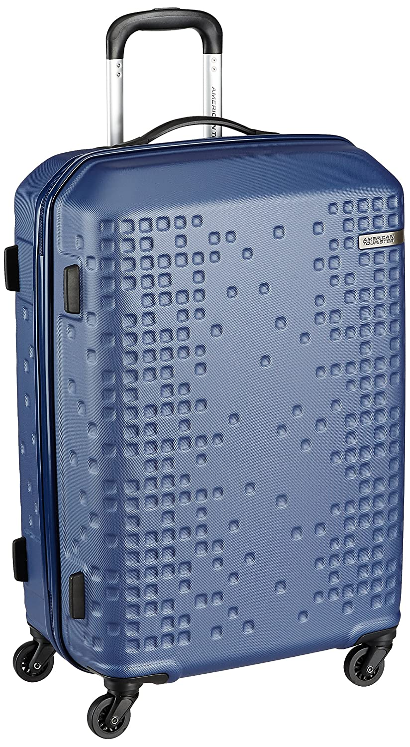 American Tourister Cruze Spinner Polyester 55 Cms Blue