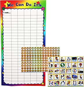 Kenson Kids We Can Do It! Classroom and Preschool Chart